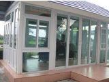 UPVC schiebendes Fenster mit Gitter-Doppelt-ausgeglichenem Glas