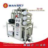 Planta de la filtración del aceite aislador para los transformadores, los condensadores y los corta-circuitos
