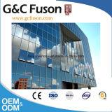 Precio de fábrica de cristal de aluminio estándar australiano de la pared de cortina