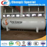 Vloeibare LPG Gas Tank van Petroleum Propane Gas Storage Tank 20ton 50m3 voor Zimbabwe
