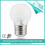 Bulbo de cerámica de la iluminación G45 3W E27 LED