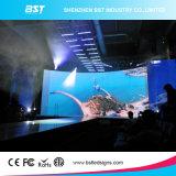 P4.81mm SMD2727 RGB wasserdichte LED videozeichen-Bildschirm-Miete mit 500 x 500mm dem Schrank