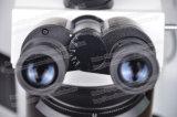 Microscópio de fluorescência da pesquisa do laboratório FM-Yg100 com câmara digital
