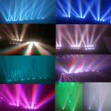 stadium 8X12W die RGBW het Licht van de Hoofd LEIDENE Straal van de Spin bewegen