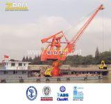 Ufer-Kran verwendet am Seehafen, um die Behälter zu handhaben