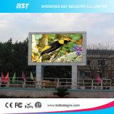 Quadro de avisos ao ar livre energy-saving do diodo emissor de luz Digital da cor P16 cheia para media de anúncio