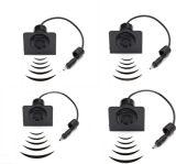 Sensor del estacionamiento del coche del LED con 4 sensores para el carro