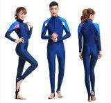 Juego de salto de encargo de Lycra del traje de baño del protector que practica surf de la tela impetuosa del Spandex