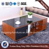 com a mesa de centro de vidro da sala de visitas da parte superior de tabela 1.2m (HX-6M360)