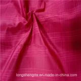 agua 40d y tela tejida chaqueta antiestática Viento-Resistente 100% del poliester del telar jacquar del Dobby del alpinismo (X041)