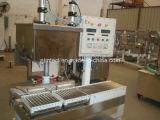 Máquina automática de llenado y taponado de líquidos para pintura, recubrimiento, pegamento, tinta