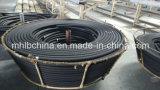 Le fil d'acier a tressé le boyau en caoutchouc hydraulique couvert par caoutchouc renforcé (SAE100 R1-10at)