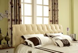 現代Size Bed Latest Soft様式の中国の工場製造王の革家具製造販売業のベッド(Jbl2017)