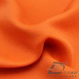 Agua y de la ropa de deportes tela rayada tejida chaqueta al aire libre Viento-Resistente 100% de la pongis del poliester del telar jacquar del Wheatear abajo (E011)