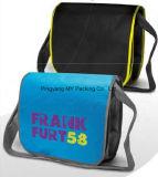 도매 선전용 쇼핑 BOPP에 의하여 박판으로 만들어지는 비 길쌈된 어깨에 매는 가방
