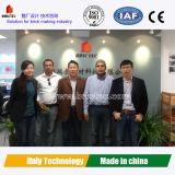 Machine de fabrication de brique avancée avec la technologie de l'Europe exportée vers l'Amérique du Sud