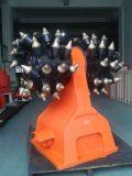 Coupeurs de tambour rotatoire hydrauliques personnalisés par série de tranchoir de Hdc