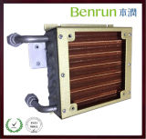 Copper Fin를 가진 작은 Copper Tube Evaporator