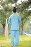 """Vestiti Long-Sleeved di prima scelta di pratica di """"chi"""" del Tai della molla degli uomini di Taoism & del lino di estate"""