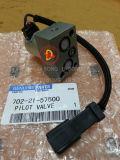 Peças sobresselentes hidráulicas de KOMATSU, peças de motor, válvula piloto (702-21-57500)