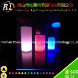 Colorido Pilar plástico de la lámpara LED