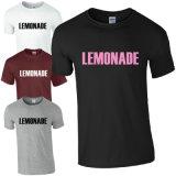 T-shirt court fait sur commande A222 d'impression d'écran de chemise de Wholeslae