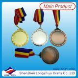 ブランク金属メダルはあなた自身のロゴのメダルデザインをカスタマイズした