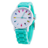 Hot Sale Women Casual Watch Silicone Wristwatch Meninas Mulheres Men Quartz Watch