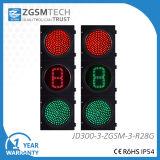 segnali verdi rossi del semaforo del cerchio 12inch LED di 300mm con un conto alla rovescia di Digitahi