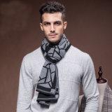 人の方法冬の暖かいウールのナイロンアクリルの編まれたスカーフ(YKY4616)