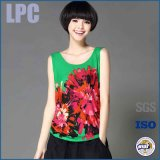 Neue Entwurfs-Form-kundenspezifische Baumwollblumen-Frauen-Kleidung