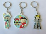 高品質のPlastic Promotional 3D PVC Cartoon Keyring (KC-A001)
