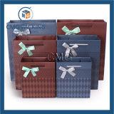 Офсетная печать и мешок логоса бумаги материальный изготовленный на заказ (DM-GPBB-128)