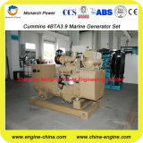 4BTA3.9-GM47による30kw Cummins Marine Diesel Generating Set