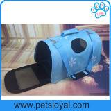 Fábrica do saco de portador do curso do gato do cão de 3 fontes do animal de estimação dos tamanhos