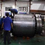 600lb forjou o tamanho grande de aço a válvula de esfera reparada da extremidade da flange