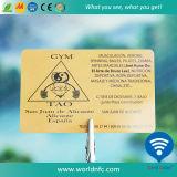Qualität Cr80 fördernde PVC-Gymnastik-Mitgliedskarte