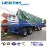 acoplado lleno del transporte de cargo de 60t 4axle para las ventas