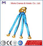 ラチェットストラップ、Four-Legウェビングの吊り鎖、ホックの端をマルチ使用しなさい