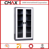 Кухонный шкаф Full Height шкафа для картотеки с Glass Swing Door Cmax-Sc002