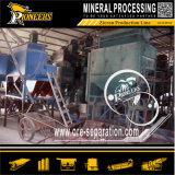 イルメナイトのミネラル製造プラントのジルコンのための静電気の分離装置