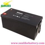 Batterie profonde rechargeable 12V160ah de gel de cycle d'énergie solaire pour l'UPS