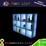 Cerveja de plástico de plástico LED Ice Balde para Bar Night Club