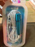 Minimikrofon StereoMic der Form-3.5mm mit Kopfhörer für Telefon-Laptop