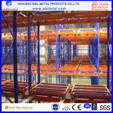Fabrik-Preis-Stahlhochleistungs drücken zurück Ladeplatten-Zahnstangen-Speicher-Racking