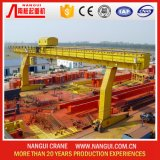鋼鉄Plant Outdoor Lifting Solution Double Girder Gantry Crane 50t