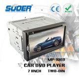Reprodutor de DVD do carro do jogador de multimédios do RUÍDO do dobro da alta qualidade de Suoer (MP-1069)