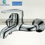 Mezclador largo del fregadero de cocina del agua del canalón de la sola palanca