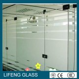 Vidro decorativo Acid-Etched do vidro geado