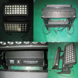 Lumières extérieures de boîte de nuit de la rondelle 72X10W de mur de DEL